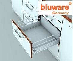 Супербокс с Два  рейлинга 50см. с успокоител Bluware Germany